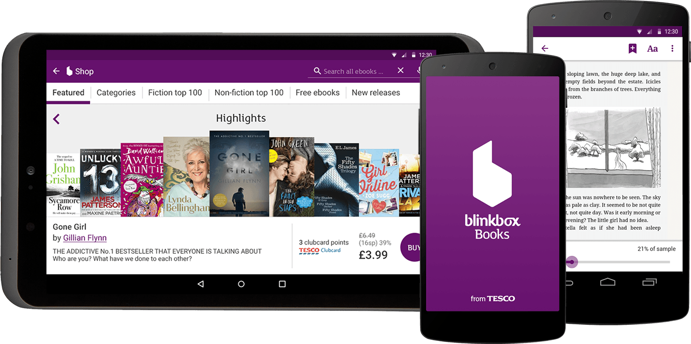Blinkbox books Android apps