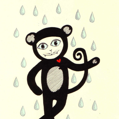 I'd dance in the rain in a monkey suit just to see you smile