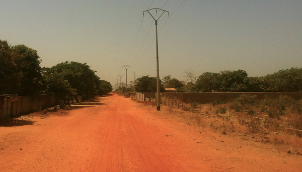 Gambia road